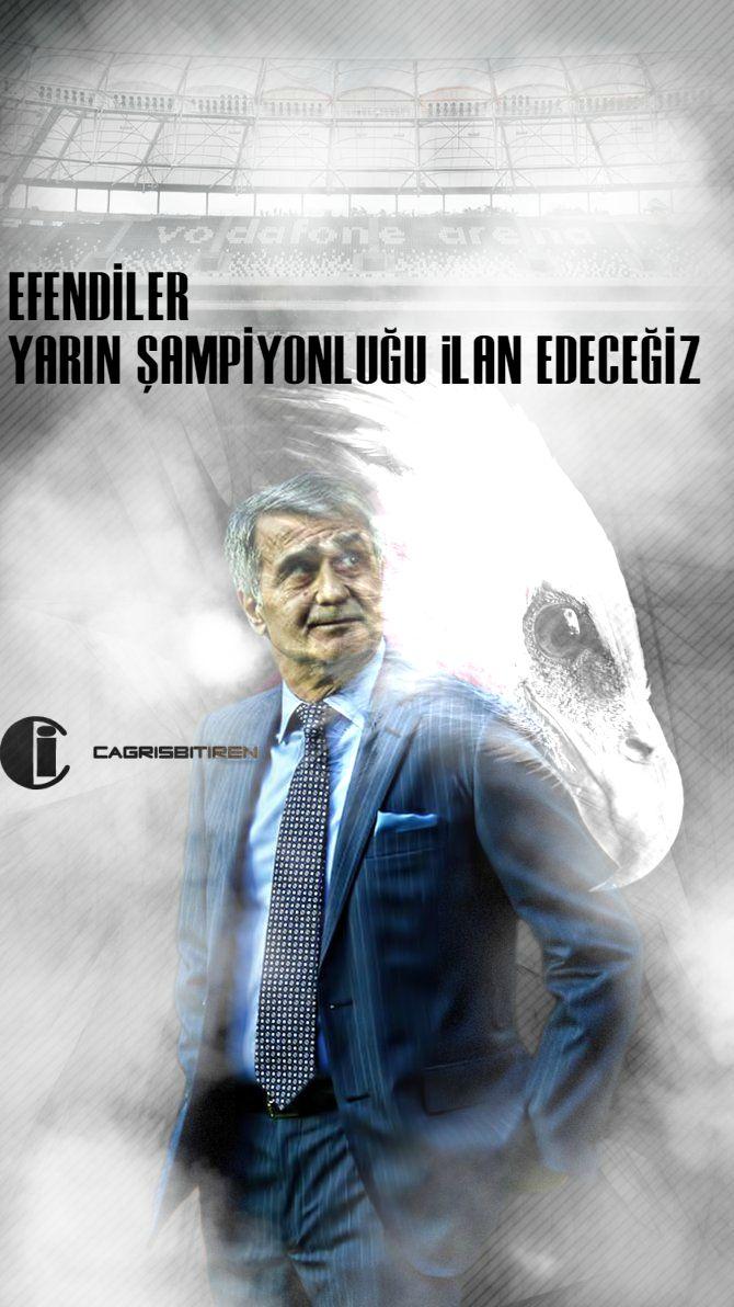 Efendiler yarın Şampiyonluğu ilan edeceğiz / Beşiktaş / Şenol Güneş