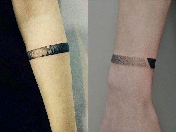 Tatuajes De Brazaletes Para Mujer 20 Disenos Delicados Y Bonitos