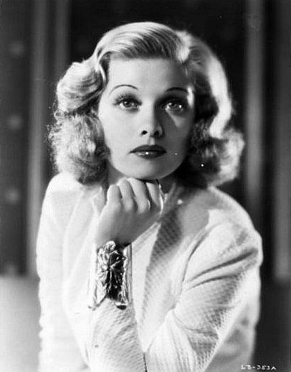 Lucille Ball. I remember this Kookie older woman in I Love Lucy on TV as a kid in the early 70's. Pinterest has revealed what a much more sophisticated person she was. And such an utterly lovely beauty in her youth too...