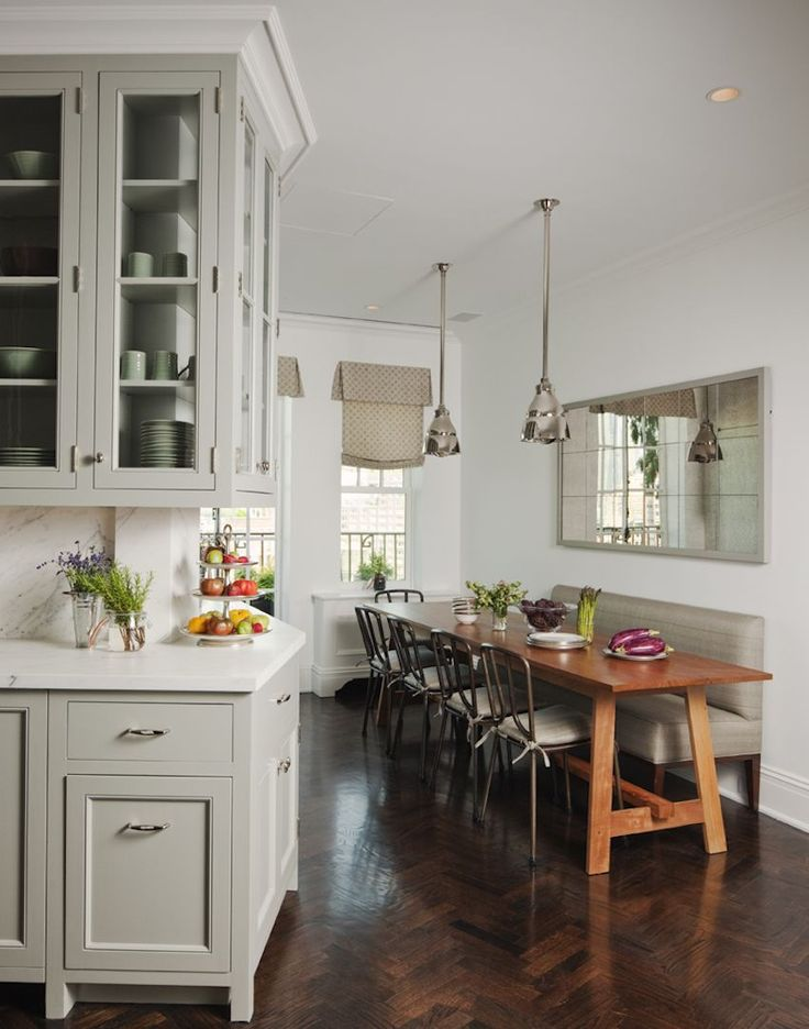 10 narrow dining tables for a small dining room - Long Kitchen Tables