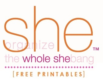 Free Organizing Printables from Organize the Whole Shebang!: Printables Organizations, Organizations Ideas, Free Organizations Printable, Interiors Design, Beautiful Interiors, Backyard Chicken Coops, Frostings Colors, Organizer Houses, Free Printables