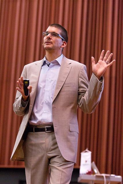 Alexander Ostewalder's open lecture