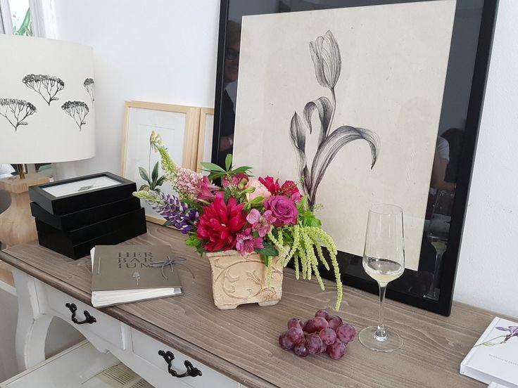 Flori de primavara aranjate in stil frantuzesc