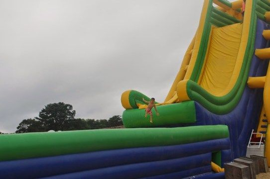Cape Cod Inflatable Park at The Cape Cod Family Resort - The Mommyhood Life
