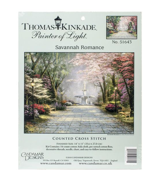 Candamar Designs Savannah Romance Counted Cross Stitch Kit