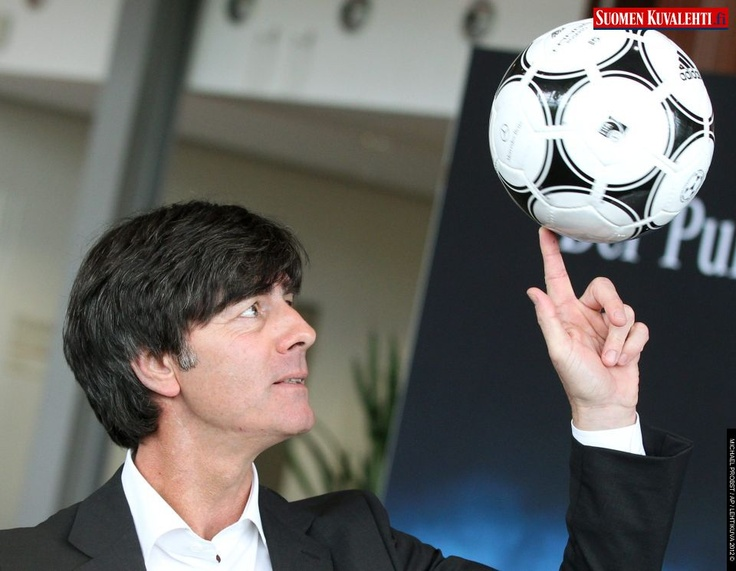 Coach of German national soccer team, Joachim Loew