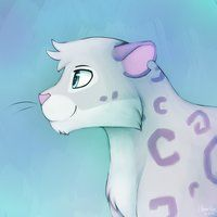 animal jam drawings | Animal Jam Snow Leopard by BirdyCrossing