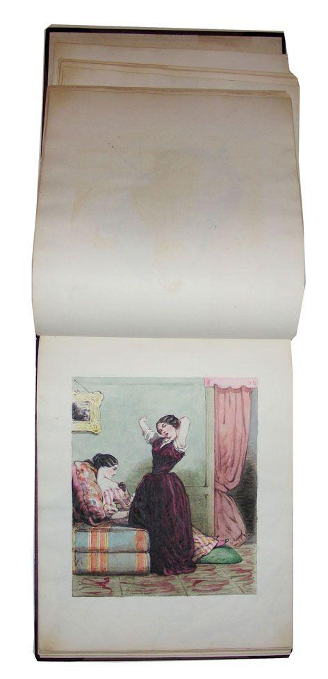 Пецольд, Август Георг Вильгельм. Альбом рисунков. Санкт-Петербург. 40-е -50-е годы XIX века.