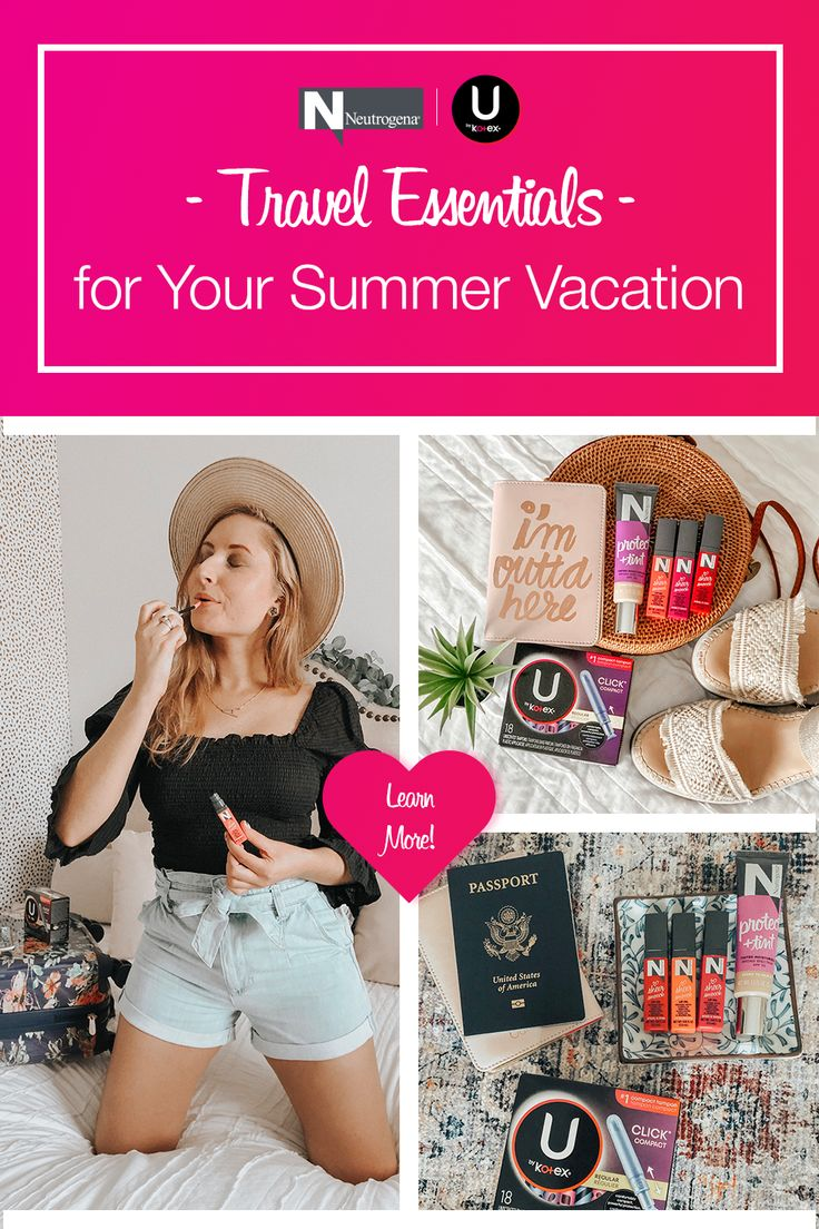 My Summer Travel Essentials: What I'm Packing for My Trip to Chattanooga, TN