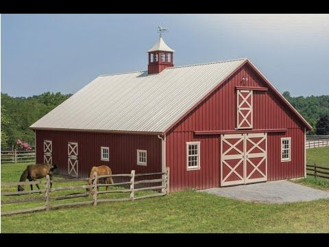 1000 ideas about storage building kits on pinterest for Amish built pole barn houses