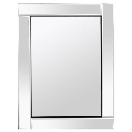 Bevelled Block Frame Mirror | Dunelm Mill