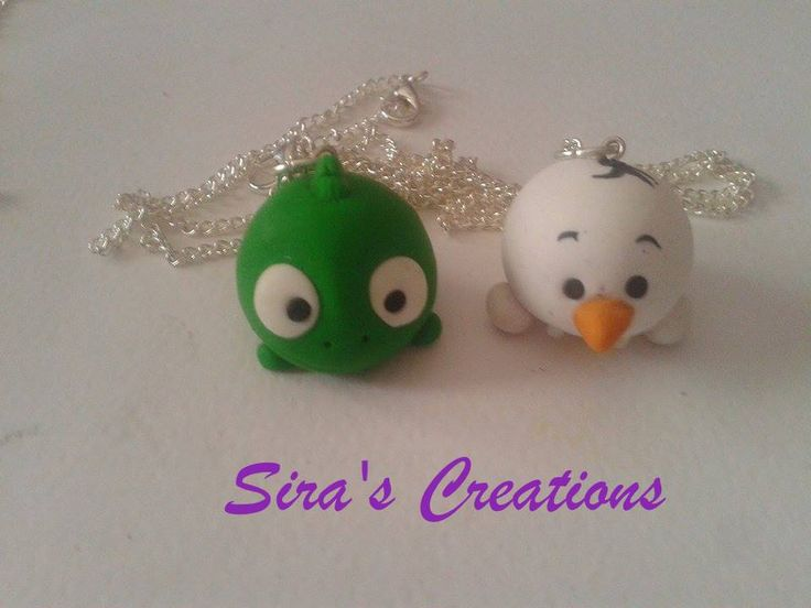 Handmade Pascal and olaf :3 polymer clay by Sira's Creations ,soon on etsy :3 ,see more on Instagram or our Facebook ;D ,#fimo #polymerclay #clay #diy #handmade #disneyinspired #disneystyle #disneytsumtsum #tsumtsum #tsumtsuminspired #disney #necklace #jewels #Pascal #Rapunzel #olaf #frozen #sirascreations