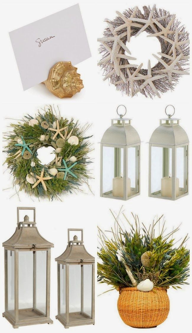 582 best Coastal Christmas images on Pinterest | Coastal christmas ...