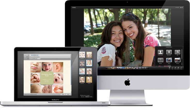 Apple - iPhoto - Fotos verwalten, durchsuchen, bearbeiten und mit anderen teilen