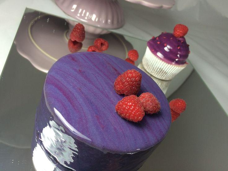 Mirror Glaze Torte Cupcakes Cake Spiegel Glasur