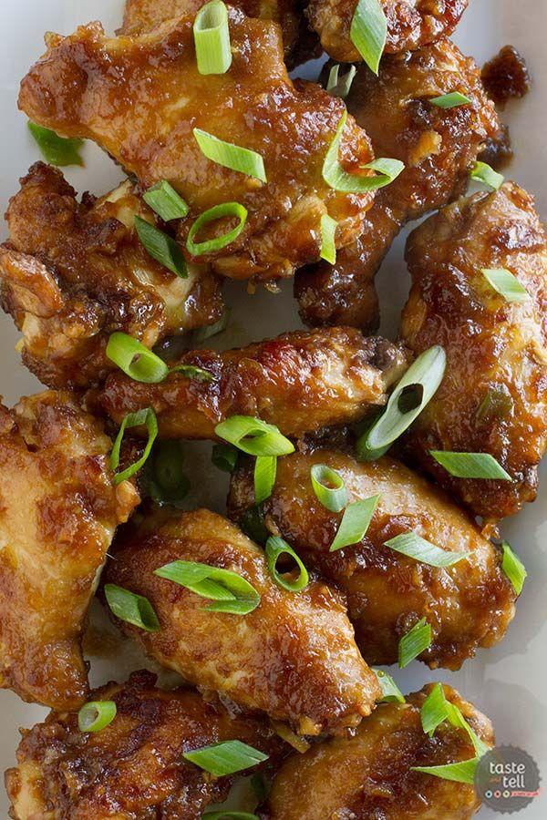 Servir a sus alitas de pollo con un toque asiático.  Estos Empress Alitas de pollo son marinados rápidamente en una salsa de soja y jengibre marinado para un aperitivo con sabor completo.