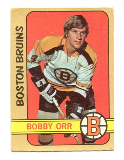 Bobby Orr, Boston Bruins, O-Pee-Chee Trading Card, 1972-73