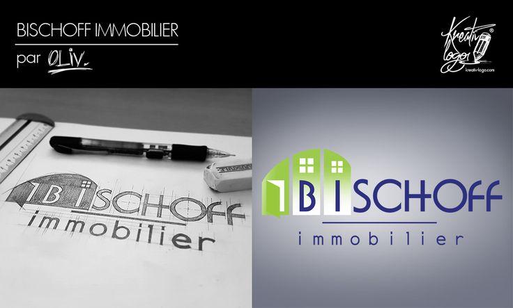 Bischoff Immobilier : Réalisation d'un logo pour une agence immobilière