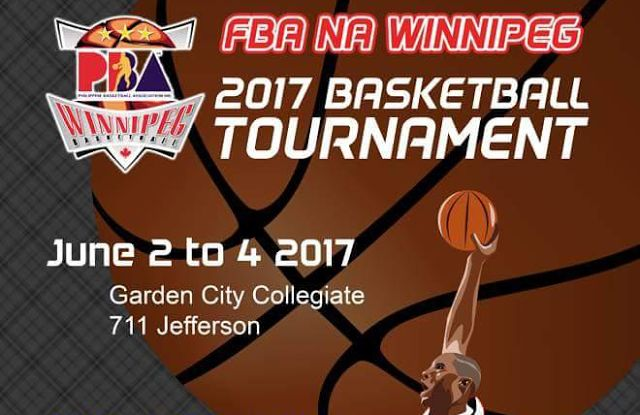 FBA Club Basketball Tournament Set for June 2-4 for Boys & Girls Teams Ages 2008 and Up   The Philippine Basketball Association of Winnipeg has announced details on their upcoming basketball tournament for boys and girls teams born from 1997 to 2008 plus open Men's and Women's Divisions. The tournament will run June 2-4 2017 at Garden City Collegiate in Winnipeg. Registration fee is $250 per team. More details below or at http://ift.tt/2cg1CTn.   Club Tournaments Headlines