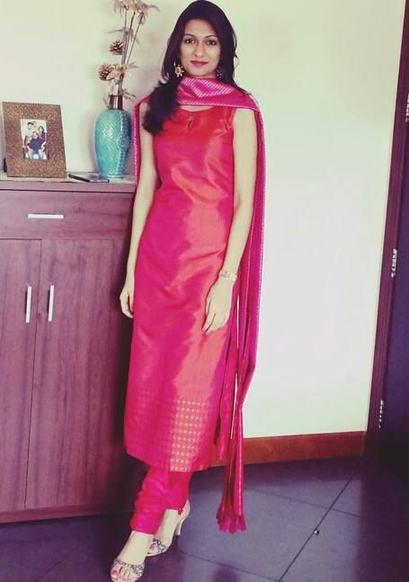 Salwar Sawariya at Vedhika. Thanks a lot Shailaja for the pic. Stay beautiful!