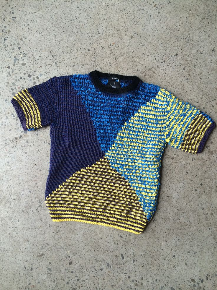 Risto hand knit sweater at Una