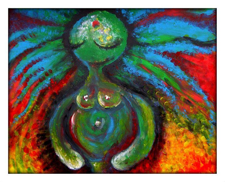 Acrylic Painting by Tom Wietrzyk & Kama Swoboda