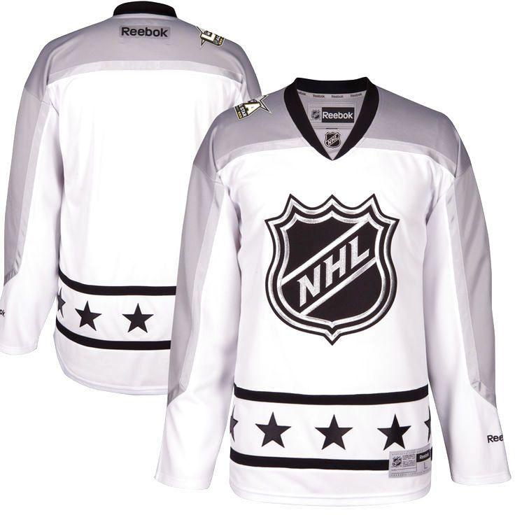 Metropolitan Division Reebok 2017 NHL All-Star Premier Blank Jersey - White - $139.99