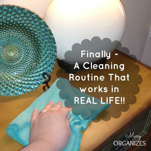 finally a cleaning routine that works in real life