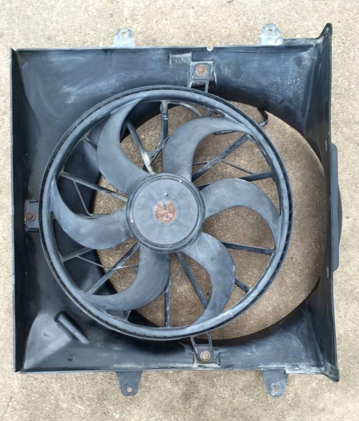 01 04 Jeep Grand Cherokee 4 0 Radiator Electric Cooling
