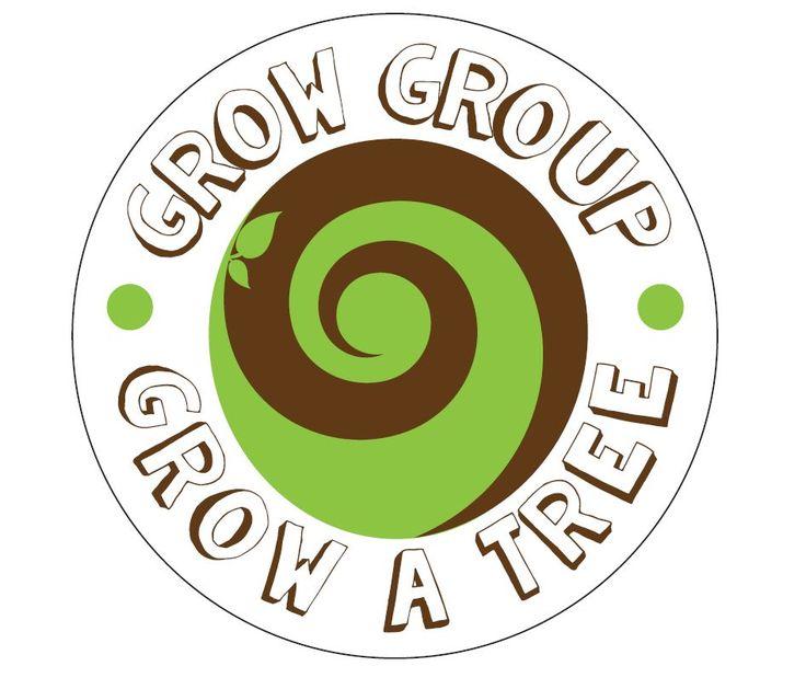 Grow A Tree has a new logo #SouthAfrica #hello World #trees #seeds #milliontreecampaign