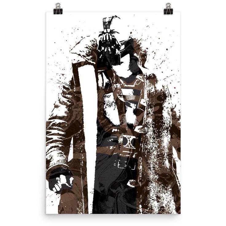 Bane Batman Dark Knight Rises Poster