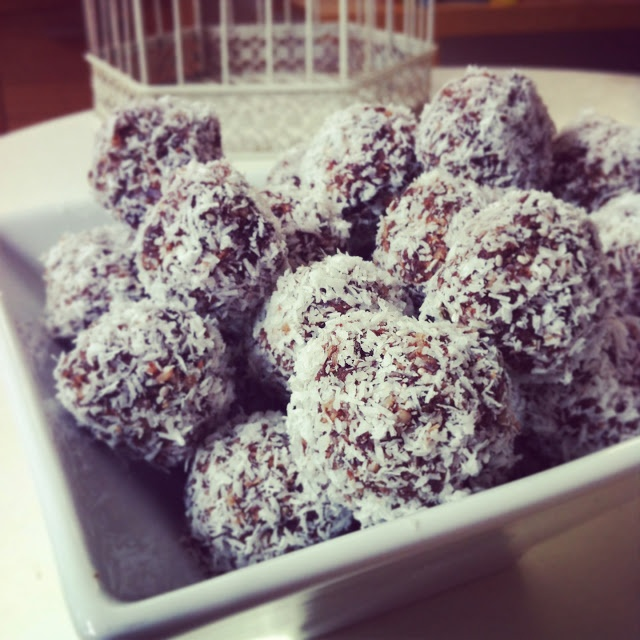 Raw Cacao Bliss Balls