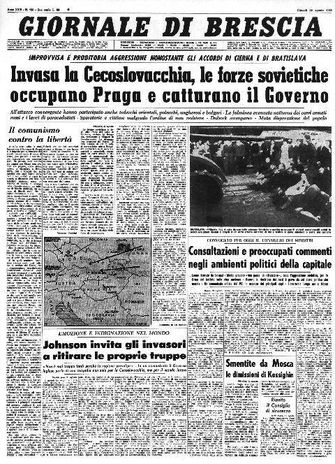 Giornale di Brescia - 22 agosto 1968