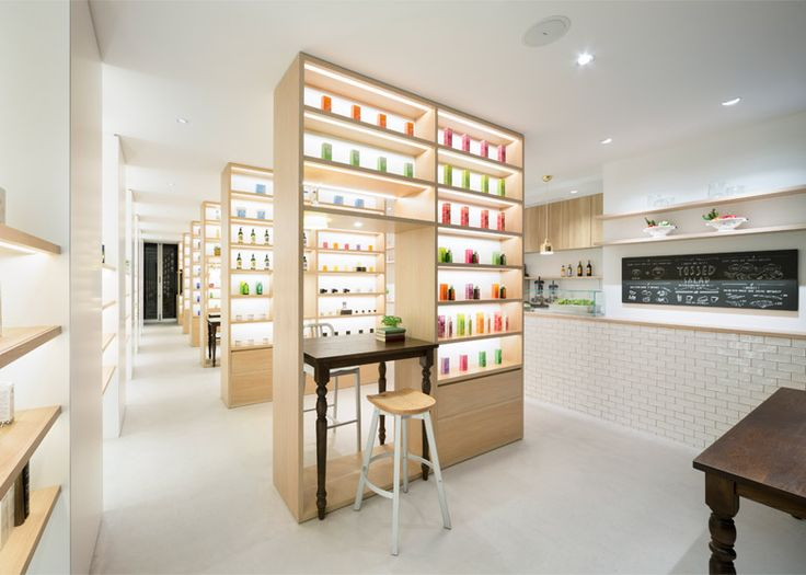 Nendo's Beauty Library presents organic cosmetics like books