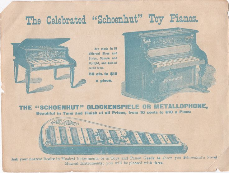 142 best U.S. Toy piano timeline images on Pinterest | Piano, Pianos ...