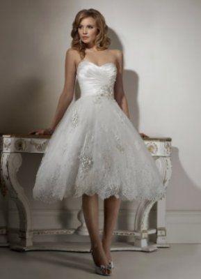 Gli abiti da sposa corti 2015 sono tra le mode popolari di oggi.