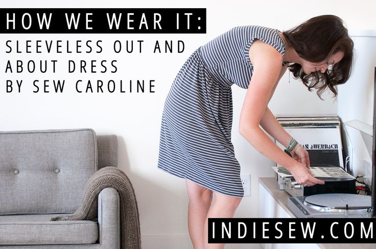 Indiesew Blog | How We Wear It: The Out and About Dress by Sew Caroline