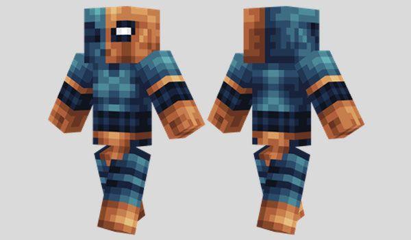 Deathstroke Skin para Minecraft