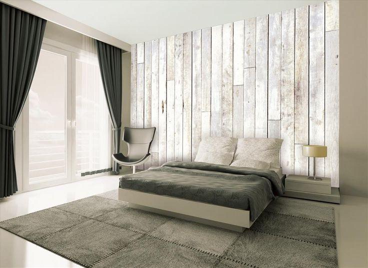 1wall Wood Panel Wall Mural Wallpaper The Wall Behind Bed