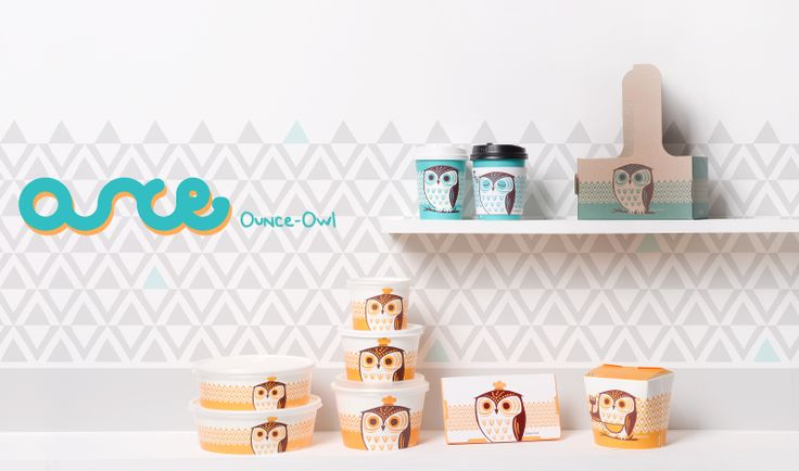 OUNCE - owl / package design www.ouncemall.com