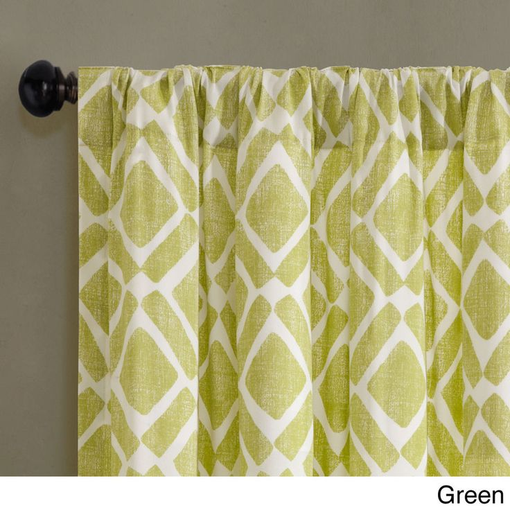 Madison Park Ella Curtain Panel Overstock Com Shopping