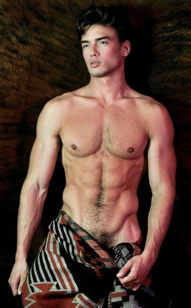 Handsome men shirtless --  DIVINE   DAVID .
