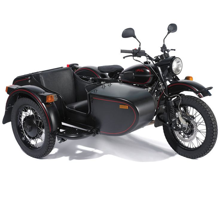 New Russian made sidecar motorcycle for $10,000 from Hammacher Schlemmer.
