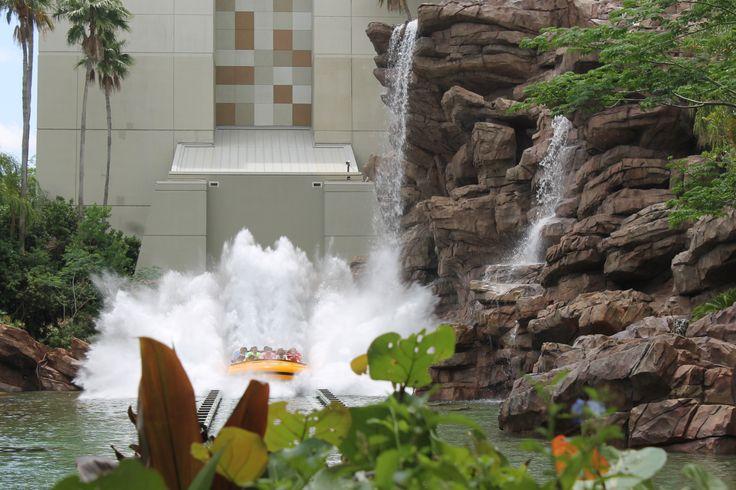 Jurassic Park splash