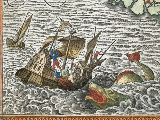 Chet Van Duzer has spent a lot of time hunting sea monsters. Combing through centuries-old maps in libraries and museums around the world, he's found and studied scores of strange creatures. His new book explores how medieval and Renaissance cartographers drew on myths, literature, and the scientific knowledge of the time to create these beasts.