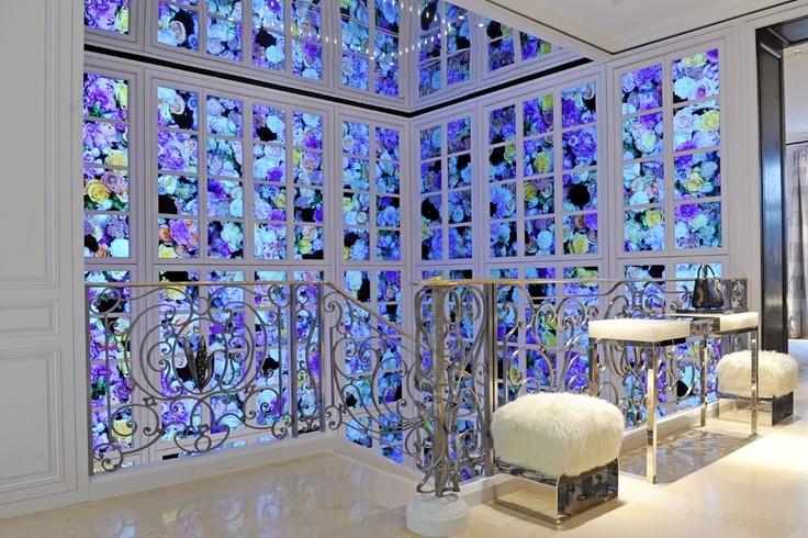 A view of the Dior boutique in Milan's Via Montenapoleone.