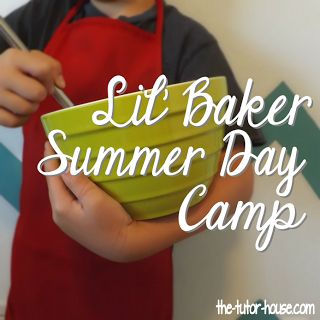 Looking for some fun with your kiddos?  How about with someone else's kiddos doing your own summer day camp?  Lil' Baker Summer Day Camp has 5 lesson plans centered around baking and science.  Learn more about the science behind cookies, yeast, and measurement.  Kids will have a blast with you in the kitchen making these delicious recipes.  Hop on over and enter to win a copy for free.  A $10 value!  The-Tutor-House.com