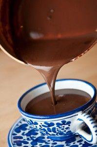 Hasta Acogedor Con chocolate caliente mexicano