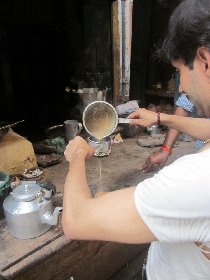 Els meus cafès. Cafè a l'India.