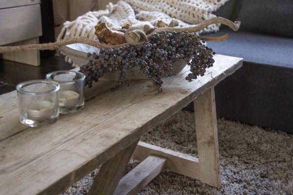 Steigerhouten salontafel - love it ❤️